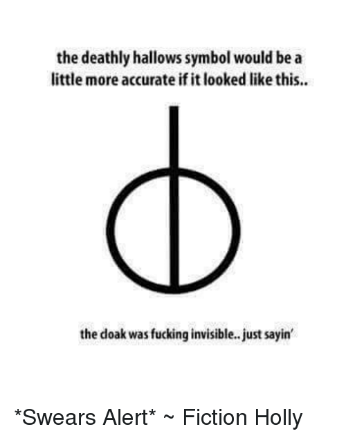 The Deathly Hallows Symbol Would Be A Little More Accurate If It