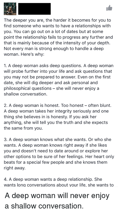 Questions to ask when seriously dating