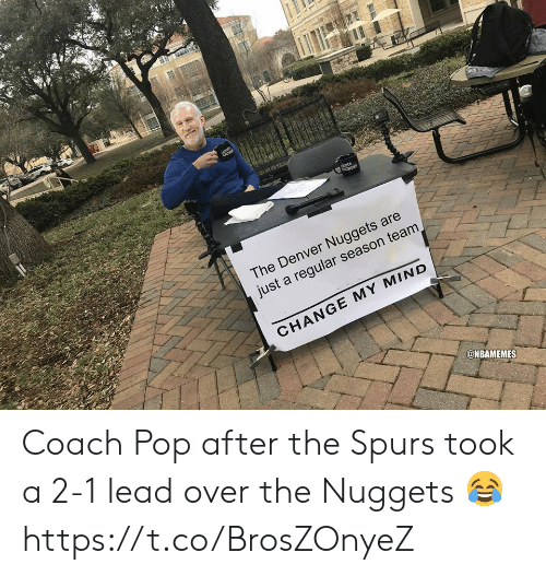 The Denver Nuggets Are Just A Regular Season Team CHANGE