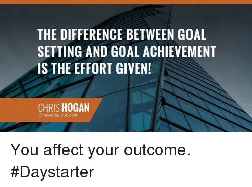 the difference between goal setting and goal achievement is the 14126232 the difference between goal setting and goal achievement is the