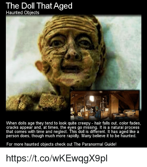 the doll that aged haunted objects when dolls age they 8549861 ✅ 25 best memes about color fade color fade memes,Creepy Memes