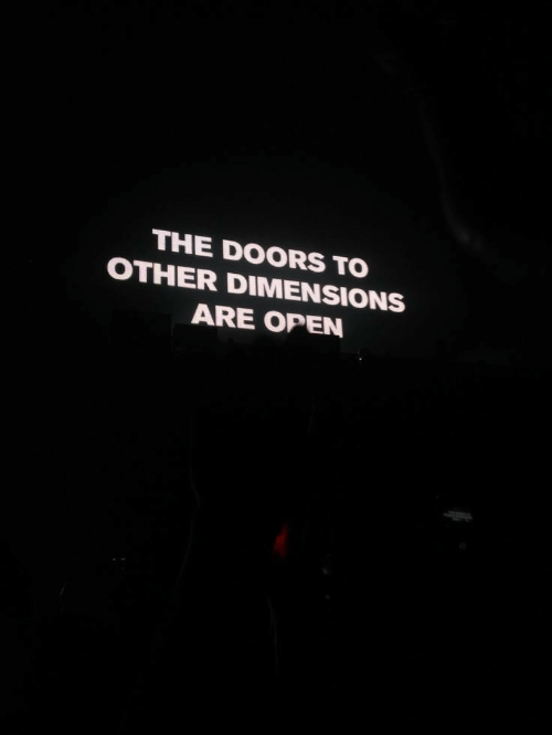The Doors, Doors, and Open: THE DOORS TO  OTHER DIMENSIONS  ARE OPEN