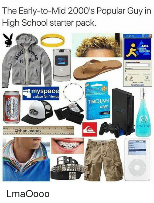 the early to mid 2000s popular guy in high school starter pack 6353183 the early to mid 2000's popular guy in high school starter pack