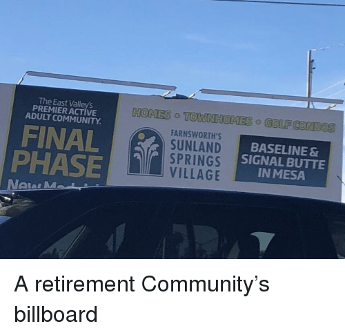 The East Valley's PREMIERACTIVE ADULT COMMUNITY HOMES TO