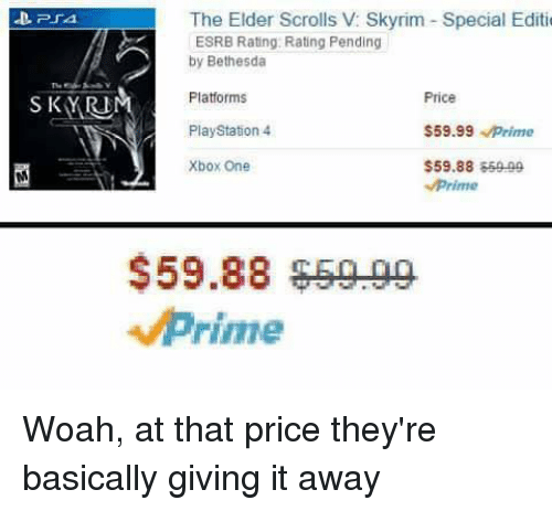 The Elder Scrolls v Skyrim Special Editio ESRB Rating Rating