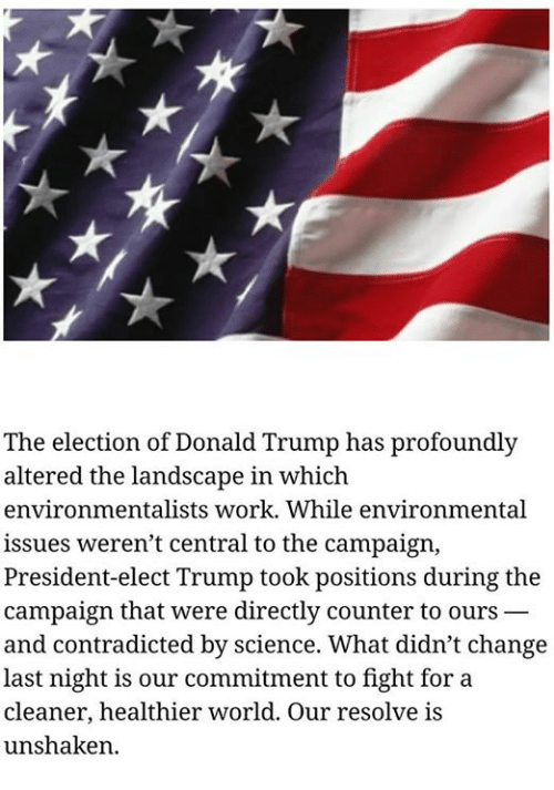 How Trumps Altered Landscape For >> The Election Of Donald Trump Has Profoundly Altered The Landscape In