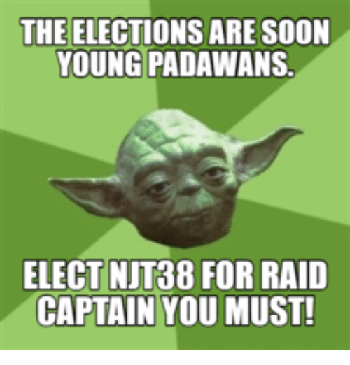 the elections are soon young padawans elect njt38 for raid 17723886 ✅ 25 best memes about star wars election meme star wars,Star Wars Election Meme