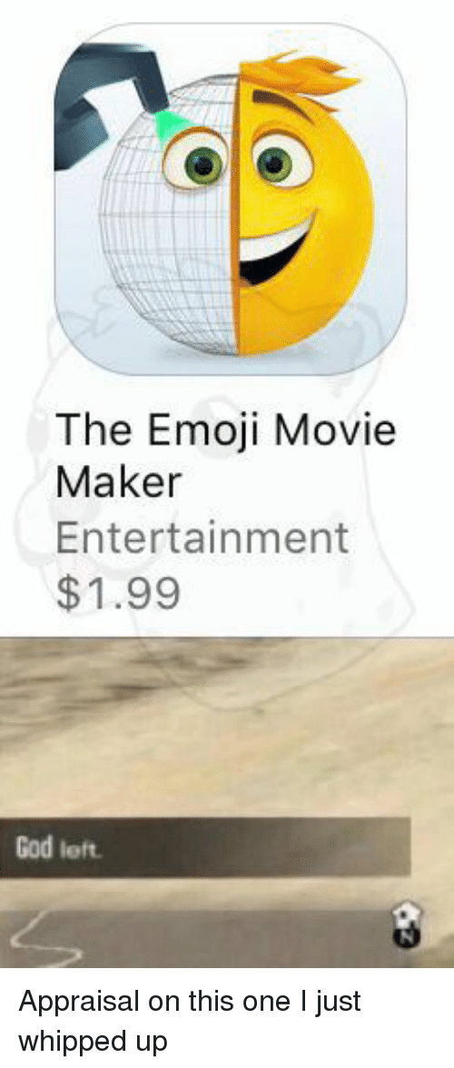 the emoji movie maker entertainment 1 99 god left appraisal on 26588573 the emoji movie maker entertainment $199 god left appraisal on this