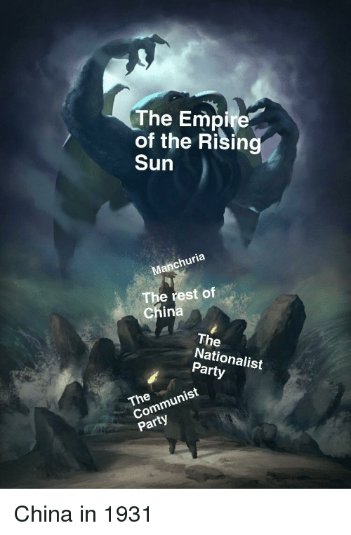 the empire of the rising sun 3 churia the rest of chin the rh me me