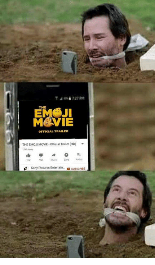 Emoji, Memes, and Movie: THE  EMSJI  MEVIE  OFFICIAL TRAILER  THE EMOJI MOVIE-Official Trailer (HD)  dSony Pictures Entertain  sUBSCRIBE