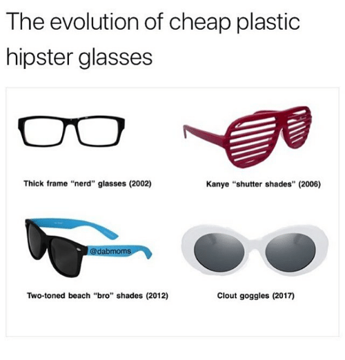 Thick Frame Nerd The Cheap Hipster Glasses Evolution Plastic Of g76vbyYf