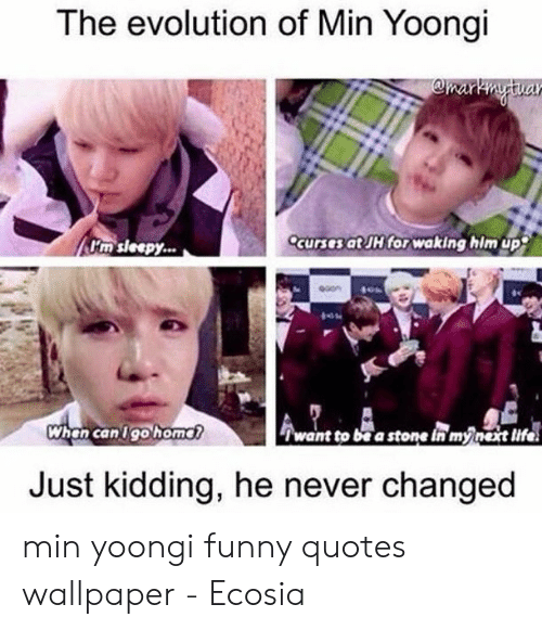 the evolution of min yoongi omartytua ccurses at jh for 50282531
