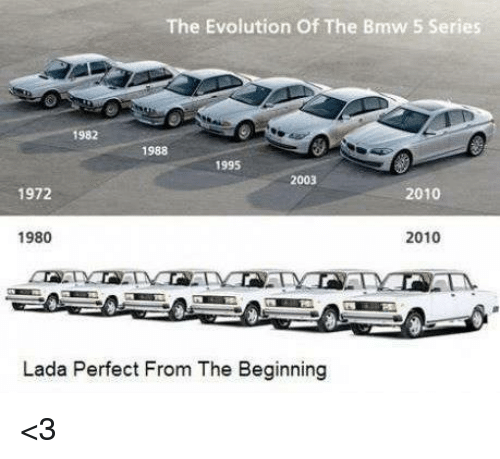 The Evolution Of The Bmw 5 Series 1982 1988 1995 2003 1972 2010 1980