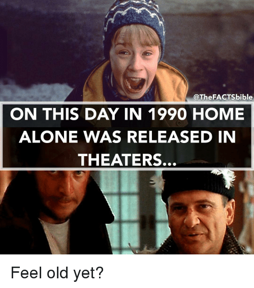 Factsbible On This Day In 1990 Home Alone Was Released In Theaters