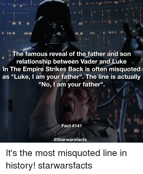 the famous reveal of the father and son relationship between 13824174 ✅ 25 best memes about no i am your father no i am your father