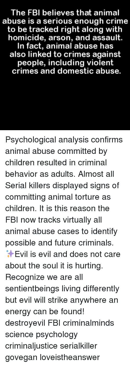an analysis of serial killers and their crimes in the different articles Hedonistic thrill killers: their primary thrill is to the violent crime linkage system canadian serial killers victims of violence is a federally registered.