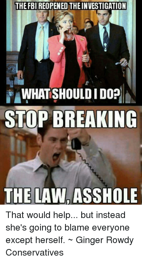 Stop breaking the law asshole something also