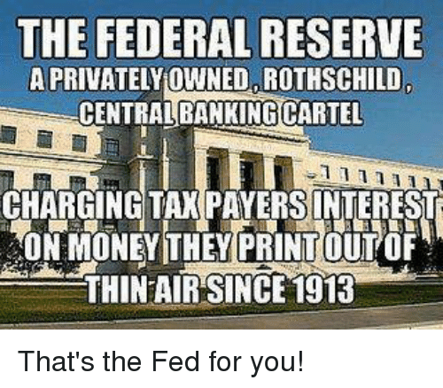 Precious Metals - Silver/Gold Alternatives To Jew Fiat Currency - Protecting Our Wealth The-federal-reserve-aprivatelyownedarothschild-centralbankingcartel-chargingitaxpayersinterest-40n-money-they-printout-4756920