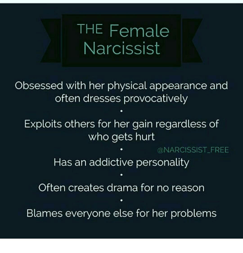 The Female Narcissist Obsessed With Her Physical Appearance and