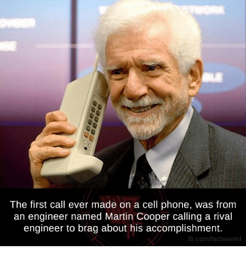 first phone call ever made