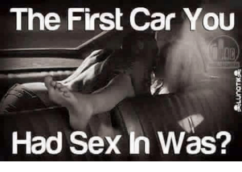when i first had sex