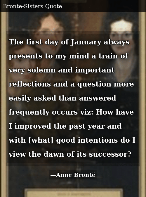 SIZZLE: The first day of January always presents to my mind a train of very solemn and important reflections and a question more easily asked than answered frequently occurs viz: How have I improved the past year and with [what] good intentions do I view the dawn of its successor?