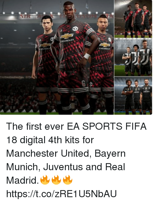 46b3847e03d The First Ever EA SPORTS FIFA 18 Digital 4th Kits for Manchester ...
