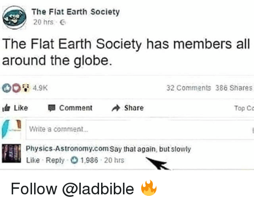 The Flat Earth Society
