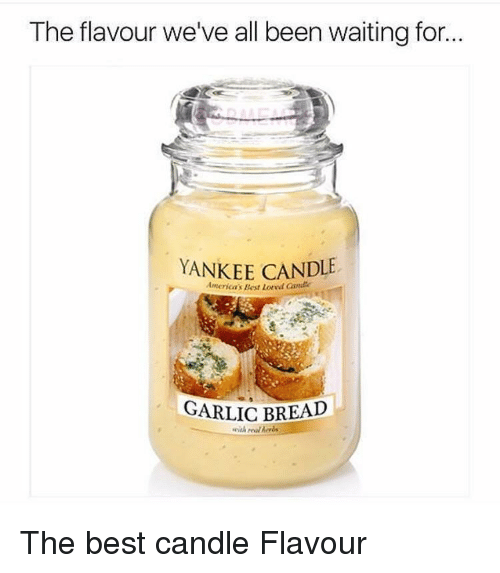 Yankee Candle Best And Garlic Bread The Flavour We Ve All Been