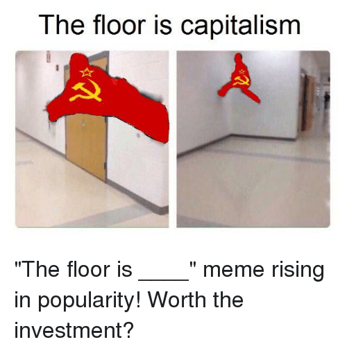 Meme, Capitalism, and Investment: The floor is capitalism