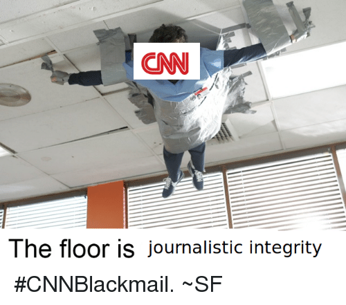 Memes, Integrity, and 🤖: The floor is journalistic integrity #CNNBlackmail.  ~SF