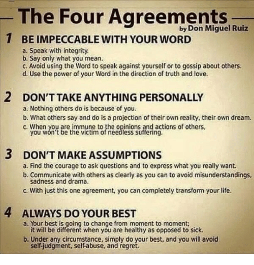 I Love You More Than Quotes: 25+ Best Memes About The Four Agreements