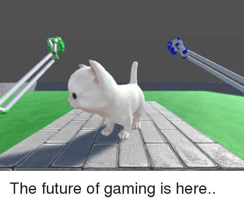 Future, Gaming, and Here: The future of gaming is here..