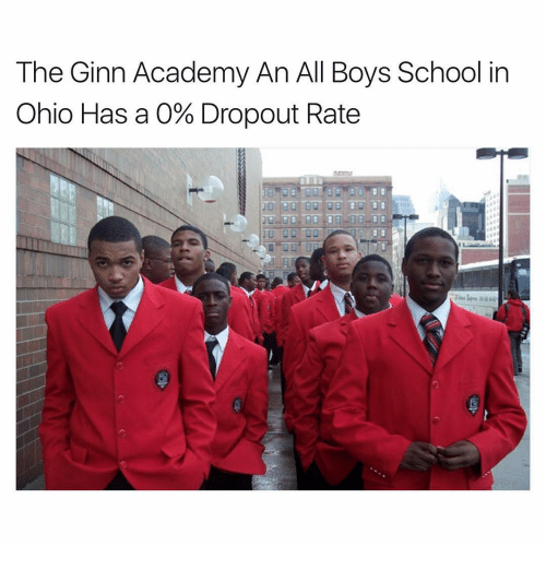 The Ginn Academy An All Boys School In Ohio Has A O Dropout Rate