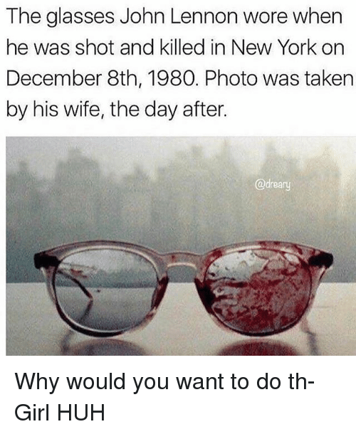 Huh John Lennon And Memes The Glasses Wore When He Was