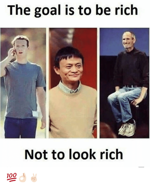 Goal, Dekh Bhai, and International: The goal is to be rich  Not to look rich 💯👌🏻✌🏻️