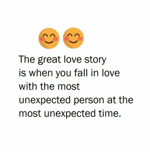 falling in love stories
