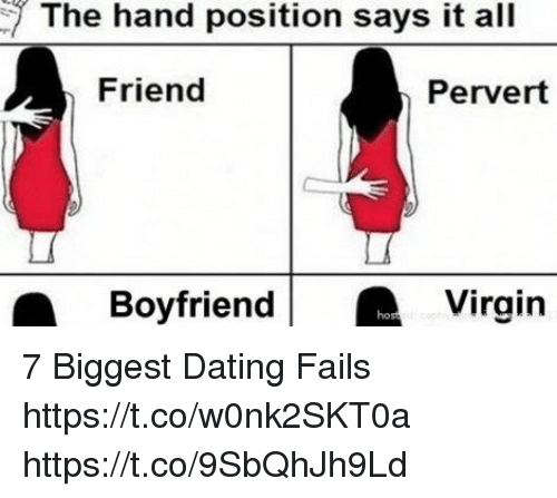 Biggest dating fails