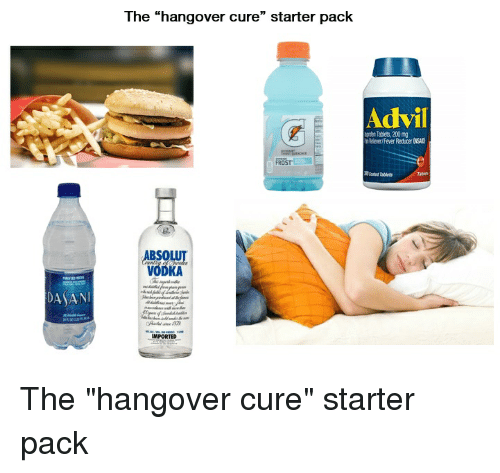 The Hang Over Cure