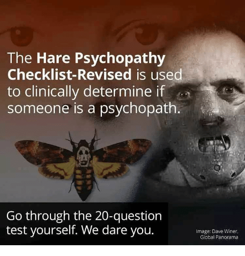 The Hare Psychopathy Checklist Revised Is Used To Clinically