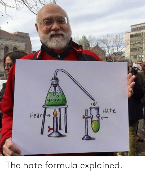 Hate, The, and Formula: The hate formula explained.