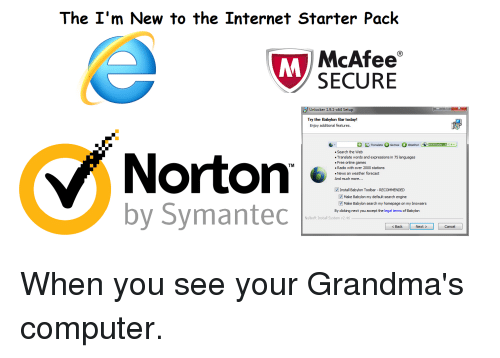 The I'm New to the Internet Starter Pack McAfee M SECURE Unlocker