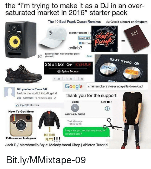 the im trying to make it as a dj in 5083991 ✅ 25 best memes about ableton ableton memes