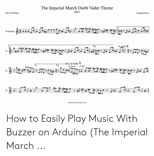 The Imperial March Darth Vader Theme BSO John Williams
