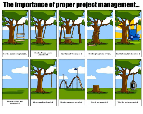 the importance of project management The importance of communication in project management communication is key to successful project management if project staff do not know what their tasks.