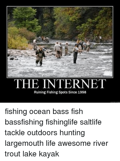 25 best memes about bass fish bass fish memes for Trout fishing spots near me