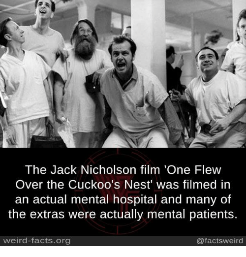 One Flew Over The Cuckoos Nest Quotes: The Jack Nicholson Film 'One Flew Over The Cuckoo's Nest