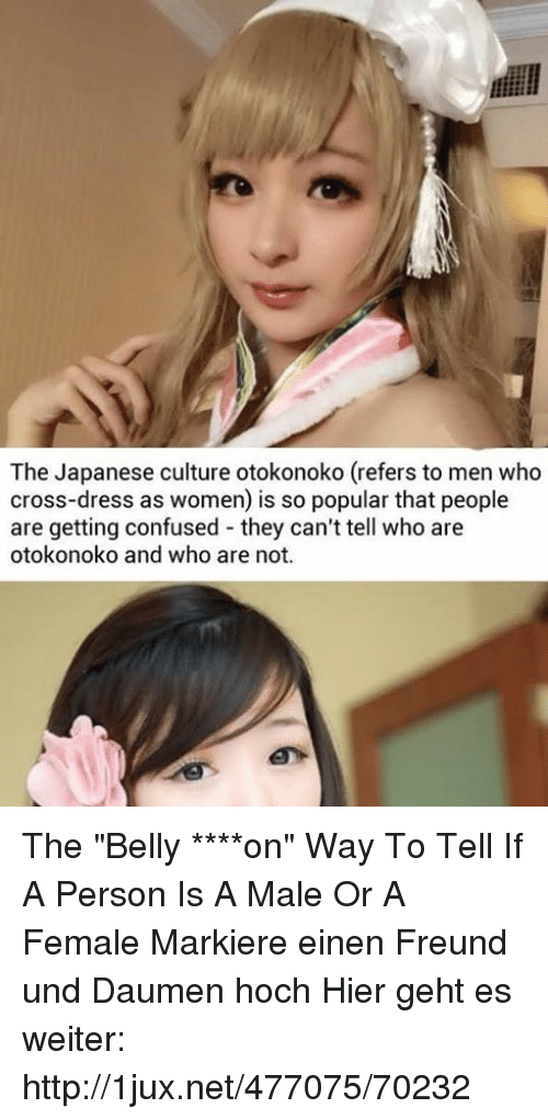 Confused Cross And Dress The Japanese Culture Otokonoko Refers To Men Who