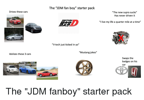The JDM Fan Boy Starter Pack Drives These Cars the New Supra Sucks ... 831af78f7f7