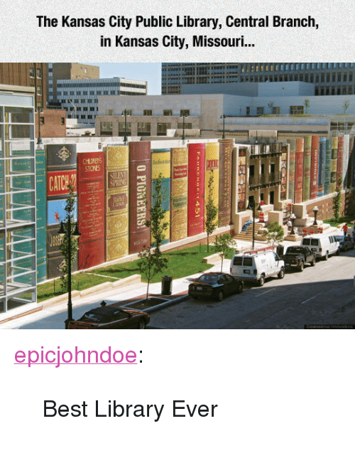 The Kansas City Public Library Central Branch In Kansas City